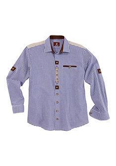 Krojová košile s ohrnovacími rukávy, OS Trachten