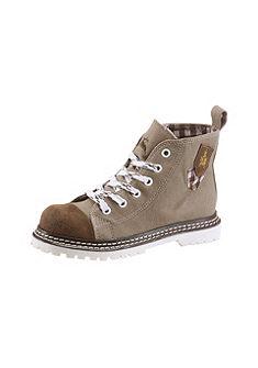 Dětská krojová obuv s nášivkou znaku po stranách, Spieth & Wensky