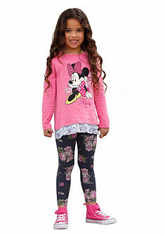 Disney Triko s dlouhým rukávem s potiskem (2ks), pro dívky