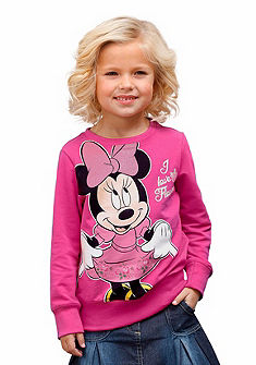 Disney Mikina, veľká potlač »Minnie Mouse« vpredu, pre dievčatá