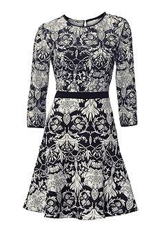 ASHLEY BROOKE by Heine Čipkované  šaty, kmitavý, sukňový diel