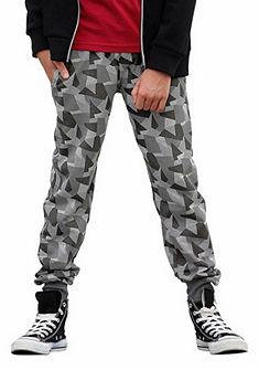 Buffalo Bavlněné vzorované kalhoty, pro kluky