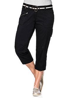 sheego Casual 3/4 cargo kalhoty