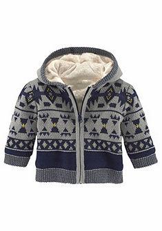 Klitzeklein Pletený svetr s kapucí