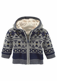 Klitzeklein Pletený sveter s kapucňou