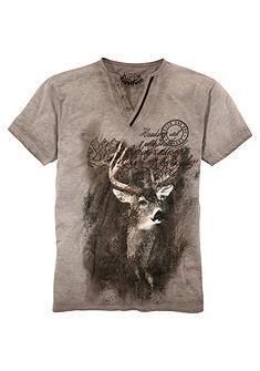 Pánské krojové tričko s potiskem, Marjo