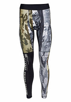 Reebok Športové legíny »One Series Winter Camo Compression Tights«