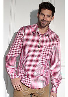 Pánská krojová košile s náprsní kapsou, OS-Trachten