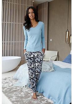 CALIDA Relaxační kalhoty s květinovým potiskem »May«