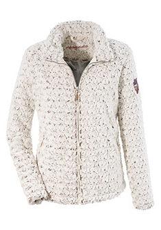 Dámská krojová outdoorová bunda ve vzhledu imitace kožešiny, Almgwand