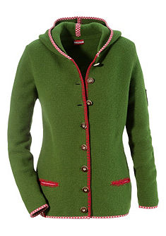 Dámský krojový svetr s kapucí, Almgwand