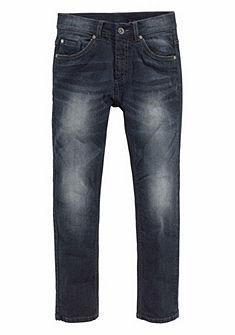 Arizona Strečové úzké džíny rovného střihu, pro chlapce