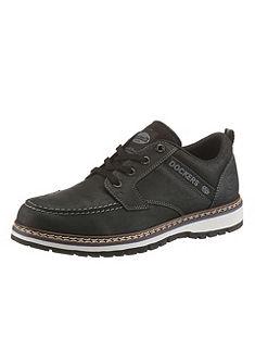 Dockers nappabőr fűzős cipő dísztűzéssel