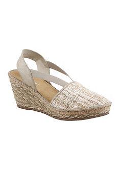 Rieker klinové sandále