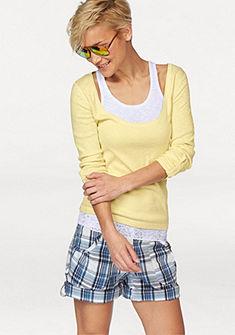 Tričko s dlouhým rukávem+top