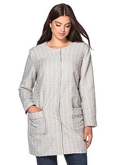 sheego Style Bouclé kabát