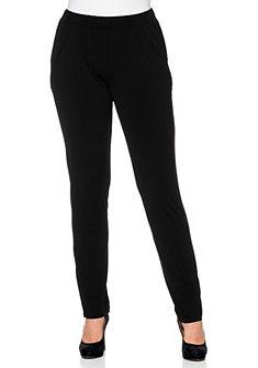 sheego Style dzsörzé nadrág »szűk fazonú«