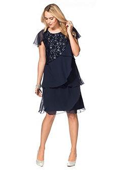 Sheego Style Krajkové šaty