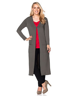 sheego Style dzsörzé kabát
