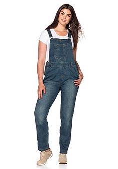 sheego Denim kantáros nadrág sztreccs minőségben