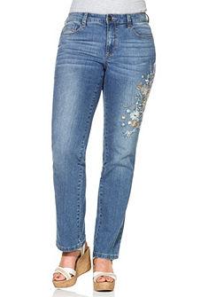 sheego Style Strečové džínsy LANA »rovné«