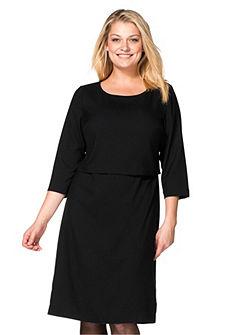 sheego Class Šaty vo vrstvenom vzhľade