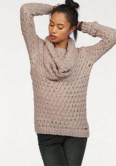 KangaROOS kötött pulóver (szett, 2 részes, sállal)