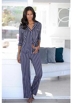 JETTE Klasické pyžamo v rovném střihu