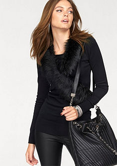 Melrose csavart hatású pulóver