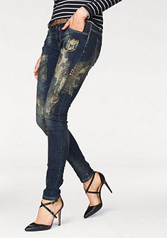 Blue Monkey 5-vreckové džínsy »Penny«