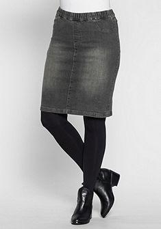 sheego Trend Džínsová sukňa