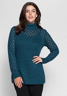 sheego Style Rolákový pulóver