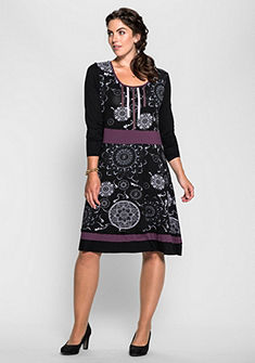 Joe Browns Šaty s ornamentálním potiskem