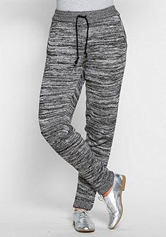 sheego Trend Pletené kalhoty s pružným pasem