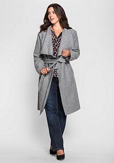 sheego Style rövid kabát nagy gallérral