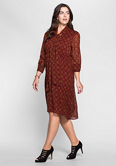 sheego Style Šaty s V výstrihom