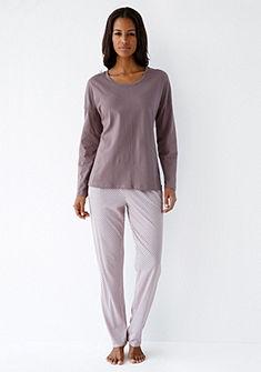 Schiesser Pyžamové kalhoty s jemným potiskem