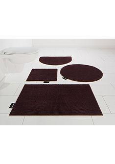 Kúpeľňová predložka, 3-dielna súprava pre vysiace WC, Bruno Banani »Maja« výška 15 mm