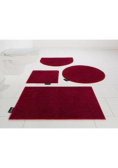 Koupelnová předložka, 3-dielna souprava pro závěsné WC, Bruno Banani »Maja« výška 15 mm