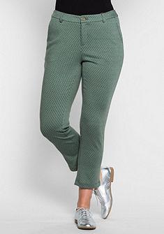 sheego Trend Žerzejové kalhoty