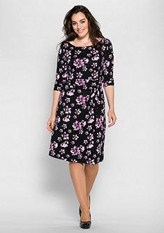 sheego Style dzsörzé ruha