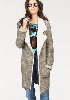 Aniston Dlouhý pletený svetr