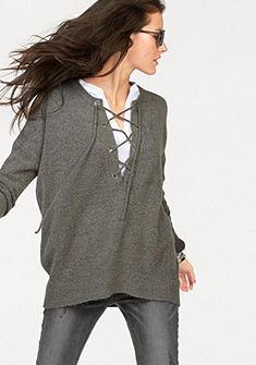 Aniston kereknyakú pulóver