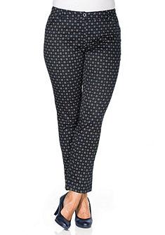 sheego Style nyomott mintás nadrág