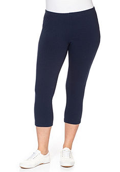 sheego Casual BASIC capri leggings