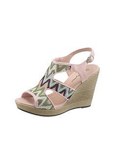 Rieker Pásikavé sandále, skvelý dizajn