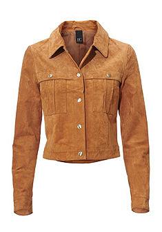 Kožená bunda, bravčová koža