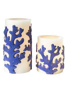 heine home Dekorace svíčka, 2-díl.