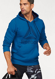 Reebok mikina s kapucňou »Workout Ready Big Logo Cotton poly Hood«