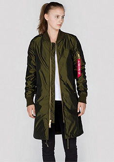 Alpha Industries hosszú dzseki »MA-1 LW Coat Iridium Wmn«